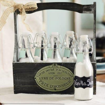 Homemade Vanilla Sugar Bottles – A Michaels Craft DIY