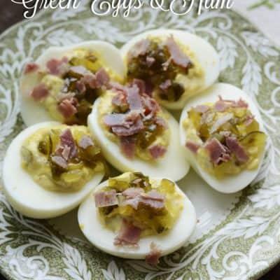 Deviled Green Eggs & Ham