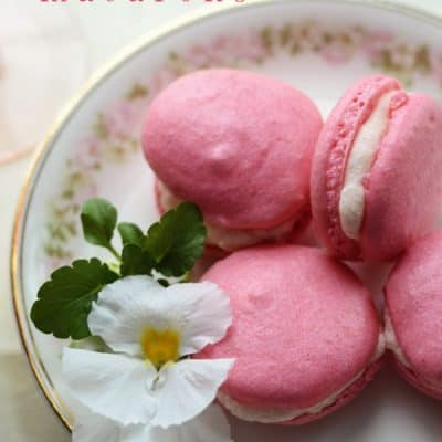 Pink Lemonade Macaron Recipe {The Great Sucré Macaron Challenge of 2014!}