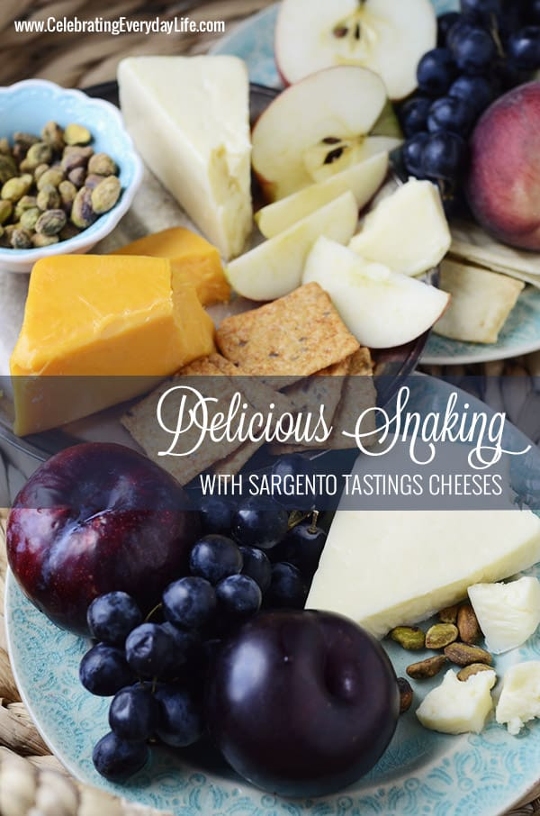 Sargento Tastings Cheeses, Delicious Healthy Snaking Options, Celebrating Everyday Life with Jennifer Carroll