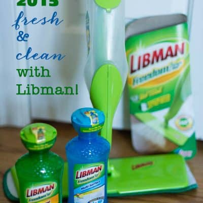 Starting 2015 Fresh & Clean with Libman!