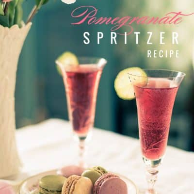 Pomegranate Spritzer Recipe – Summer Cocktail