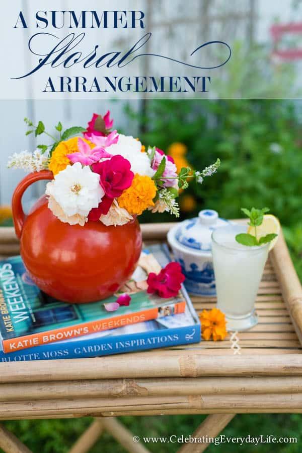 A Summer Floral Arrangement