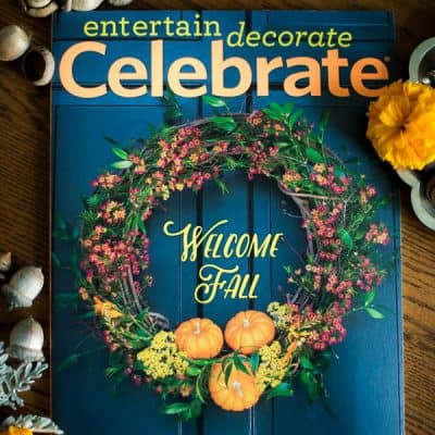 I'm a Contributing Editor for CELEBRATE magazine!!!