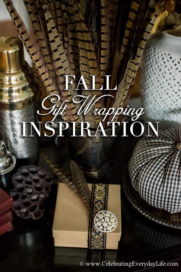 Fall Gift Wrapping Inspiration