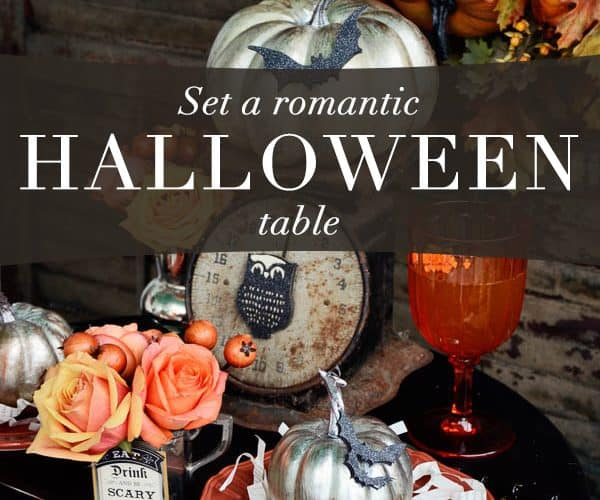 Set a Halloween Table