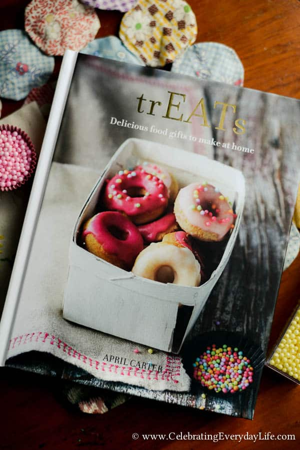 trEATS by April Carter book review, Cookbook review, Rhubarb and rose cookbook, Celebrating Everyday Life with Jennifer Carroll
