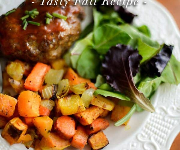 Roasted Root Vegetables :: Fall Recipe