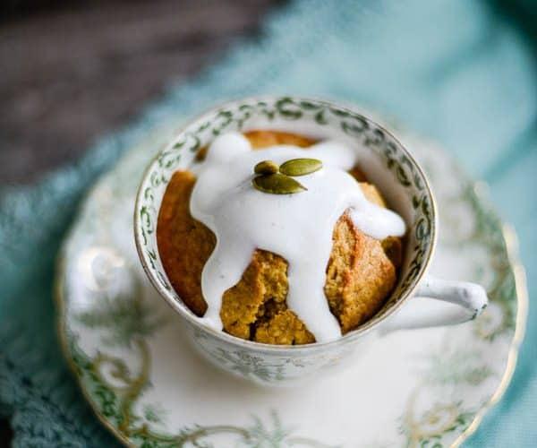 Pumpkin Spice Tea Cupcake Recipe