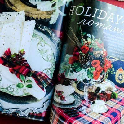 Christmas Inspiration with Celebrate magazine