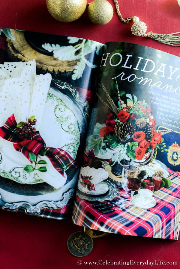 Celebrate magazine, Christmas issue of Celebrate magazine, Christmas decorating ideas, Christmas magazine, Celebrating Everyday Life with Jennifer Carroll