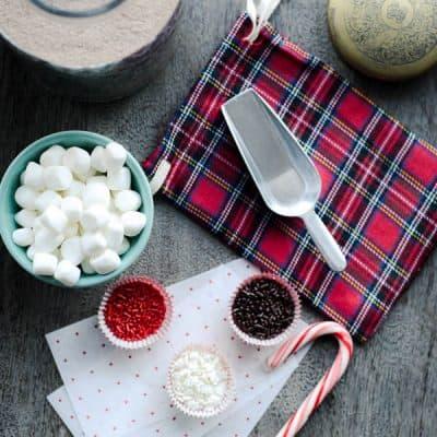 Hot Cocoa Mix Gift DIY