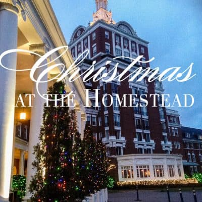 Christmas at the Homestead Resort