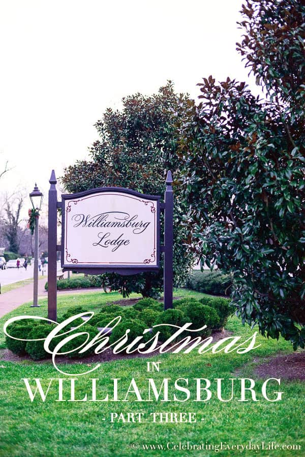 Christmas in Williamsburg 2015 Part 3