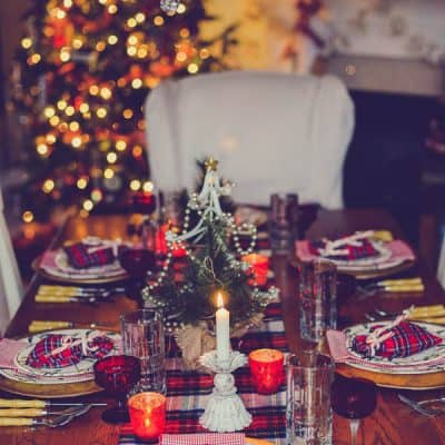 My Highland Christmas Table – Holiday Home Tour