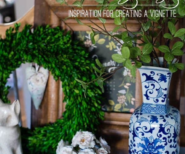 Boxwood Table Styling – Tips for Creating a Vignette