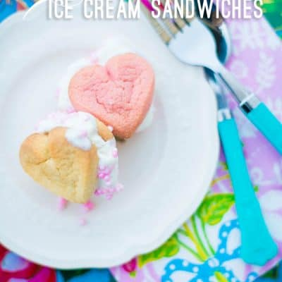 Heart Ice Cream Sandwiches