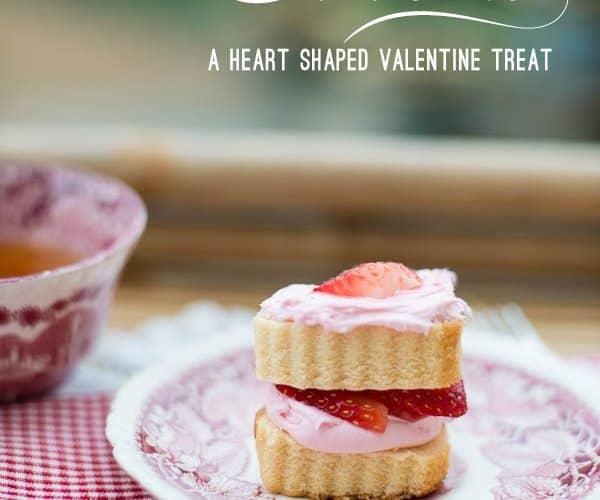 Easy No-bake Valentine Strawberry Shortcake Recipe