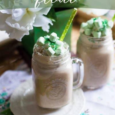 Peppermint Mocha Float – St. Patrick's Day Recipe