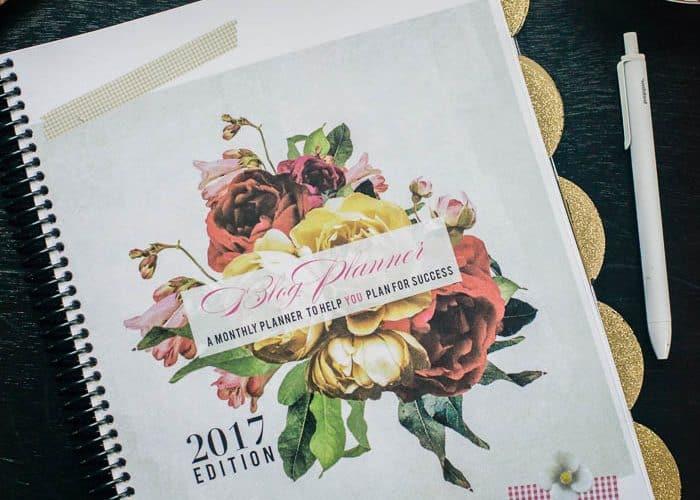 2017 Free Blog Planner Printable