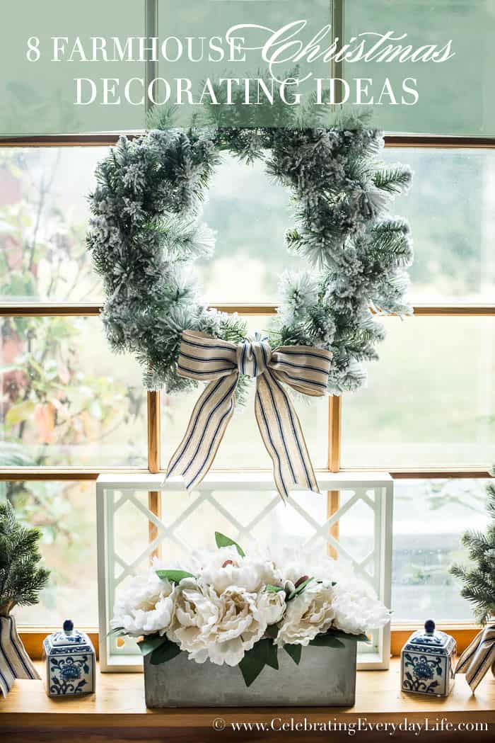 Www Christmas Ideas Decorations For Living Room: 8 Farmhouse Christmas Decorating Ideas