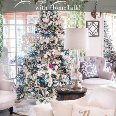 LIVE Romantic Holiday Home Tour with HomeTalk
