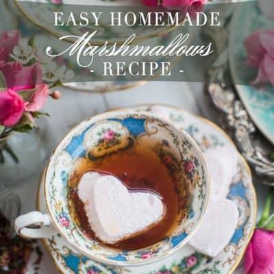How to Make Easy Homemade Marshmallows Recipe