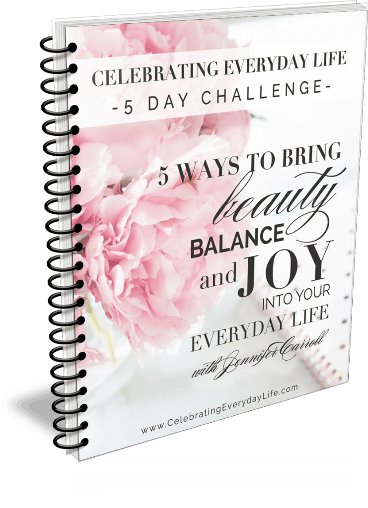 5 Ways to Bring Beauty, Balance & Joy to Your Everyday Life eBook