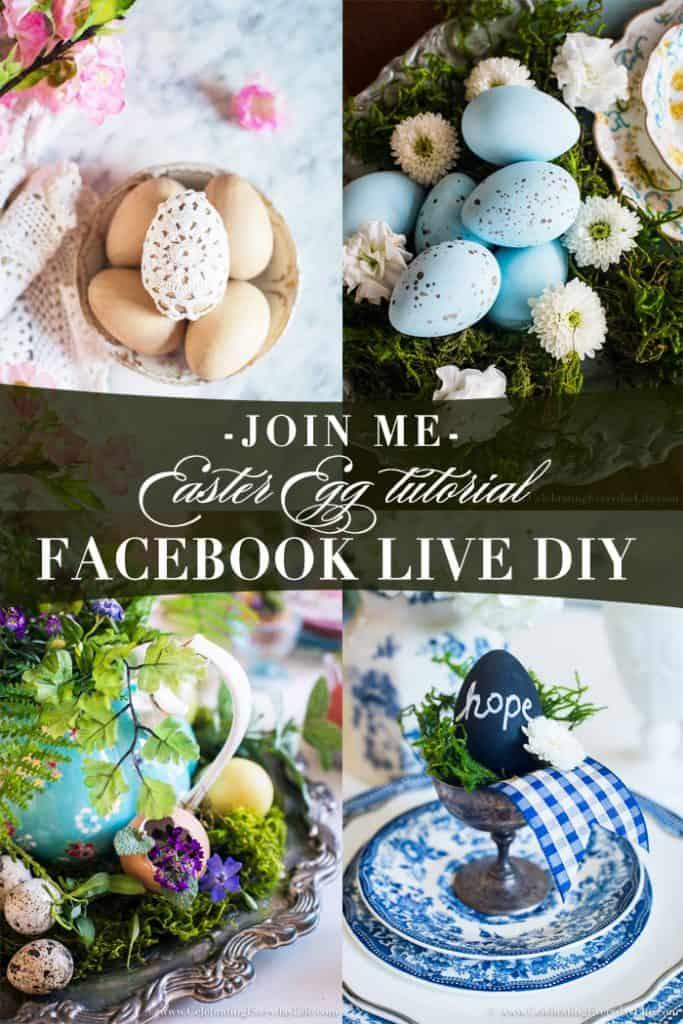 FACEBOOK LIVE Easter Egg Tutorial