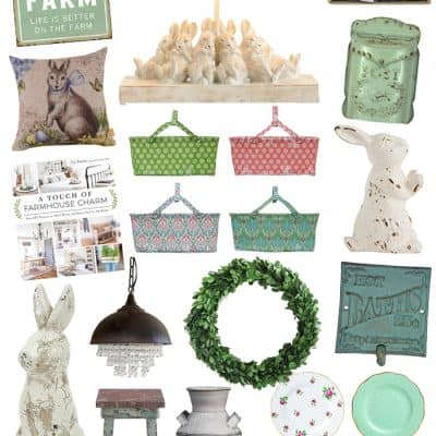 Favorite Finds to Add Farmhouse Easter Decor