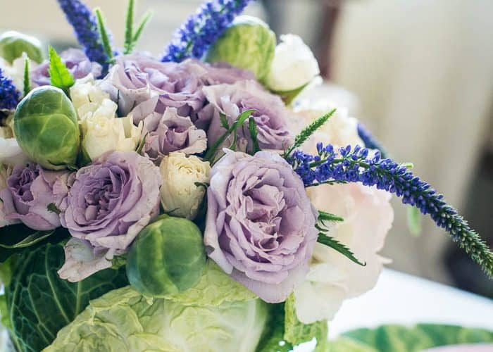 DIY Easter Cabbage Arrangement Tutorial