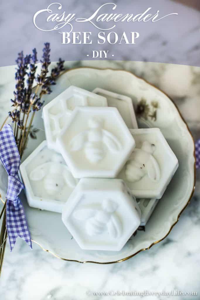 Easy DIY Bee Soap