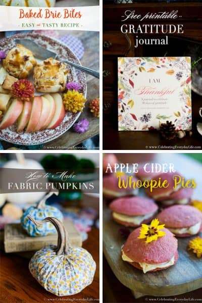 A Few of My Favorite Things for Fall Blog Hop