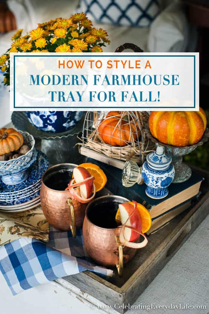 Easy Tips for How to Style a Farmhouse Tray Blog Hop