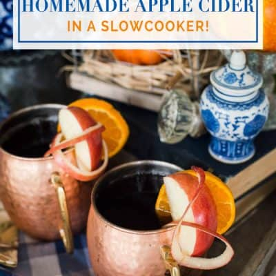 How to Make Easy Homemade Apple Cider in a Slowcooker
