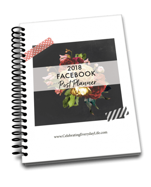 2018 Facebook Post Planner, Want to be a better blogger this year? My 2018 Blog Planner can help! It's packed with the tools you need to not only set goals but also to help you achieve them! Because believe it or not, there's never been a better time to be a blogger than right now.