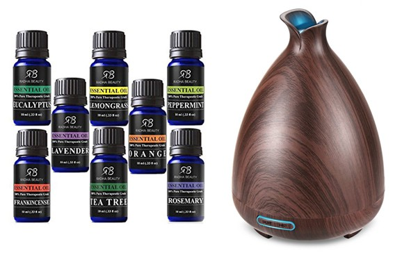 Diffuser with Essential Oils, My Top 10 New Year Essentials to have your best year yet!