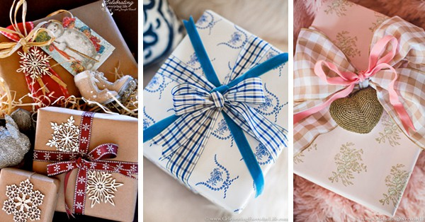 How To Make Your Gifts Look Amazing, Christmas Gift Wrapping Ideas to help your gifts be unforgettable!