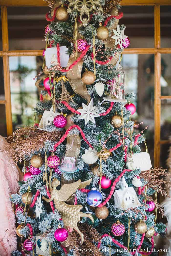 Shabby chic christmas decorations uk home design 2017 Designer christmas wreaths uk