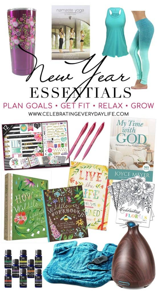 New Year Essentials to have your best year yet!