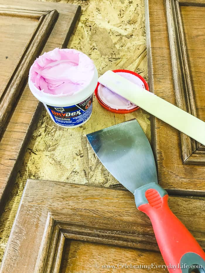 How to turn your kitchen into a Dream Kitchen with Paint! A step-by-step guide for How to Paint Kitchen cabinets!! Check out my Ultimate Budget Kitchen Makeover for How to Make Old Cabinets Look New with Paint!