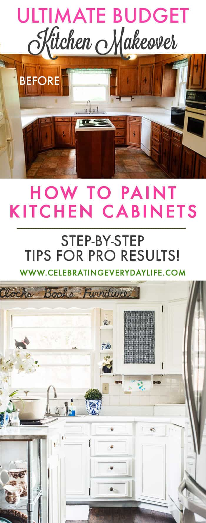 How To Turn Your Kitchen Into A Dream With Paint Step By