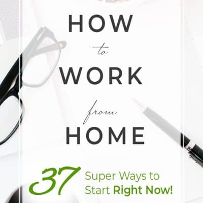 Do you dream of working from home but don't know where to start? Check out these 37 ways to earn a living from home with the Work From Home Ultimate Bundle!