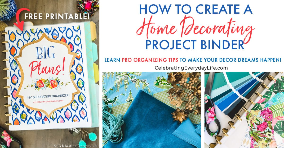 Home Decor Project Youtube: How To Create A Home Decorating Project Binder