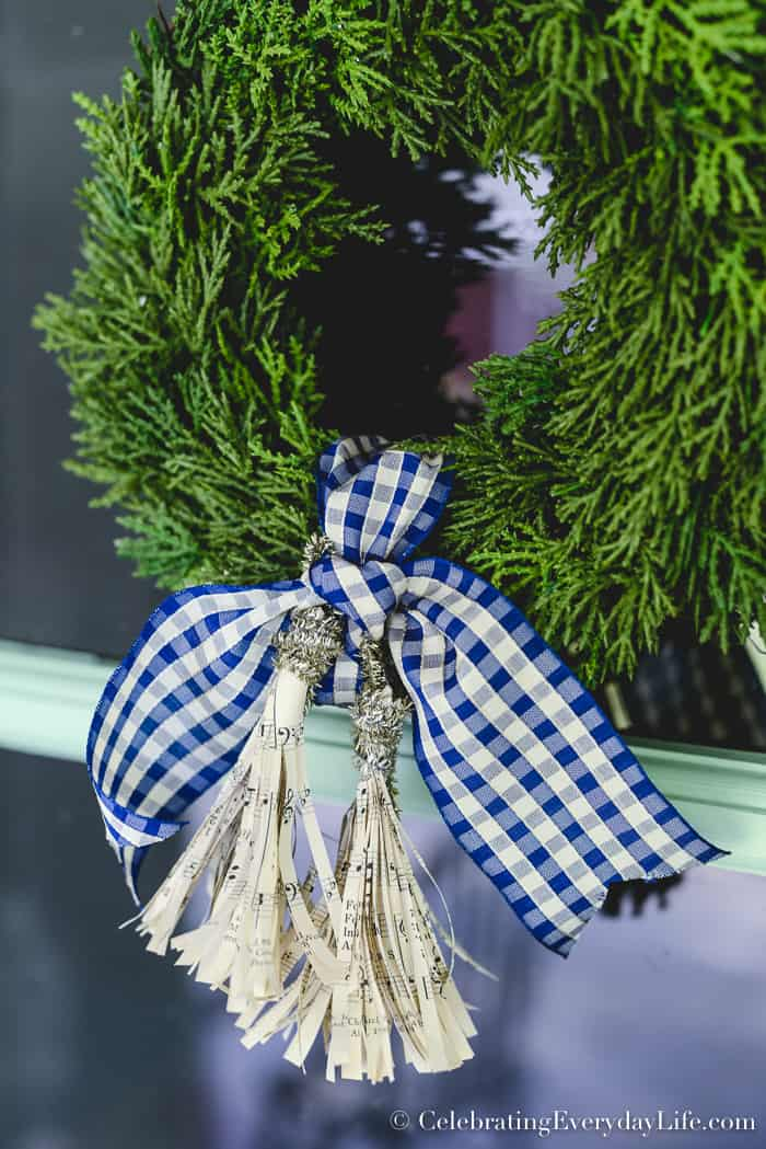 How to Make Paper Tassel Ornaments