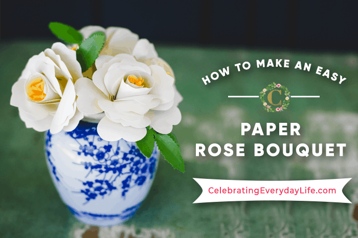 How To Make An Easy Paper Rose Flower