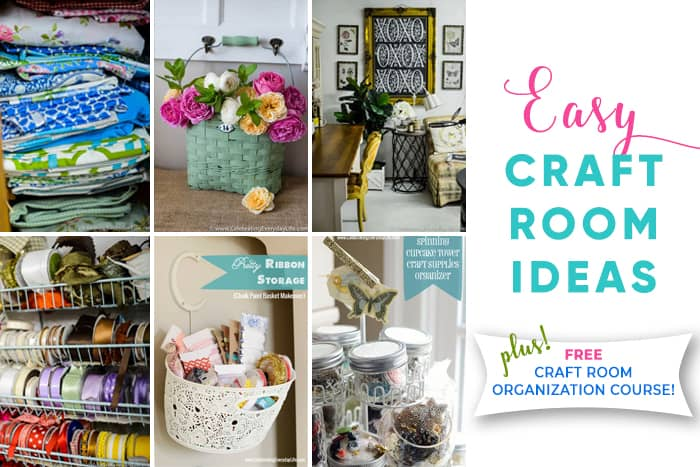Craft Room Ideas That Will Make You Want To Be Creative