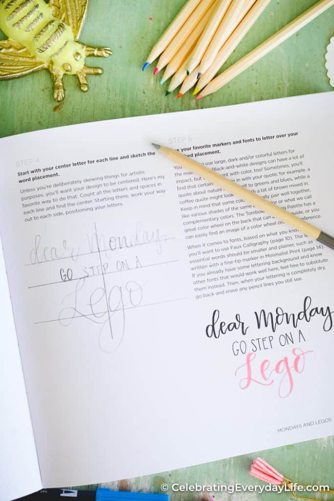 Hand Lettering for Laughter Book Review